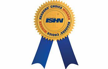 ISHN readers choice badge