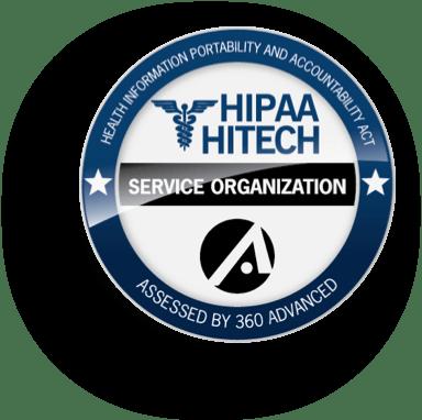 HIPAA HITECH badge