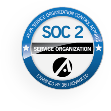 SOC 2 Service Organization badge
