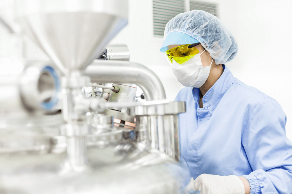Food Industries - photo of a worker in a food manufacturer