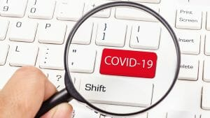 COVID-19 keyboard